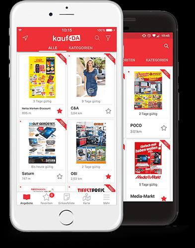 Die Kaufda Prospekte App Für Iphone Ipad Und Android